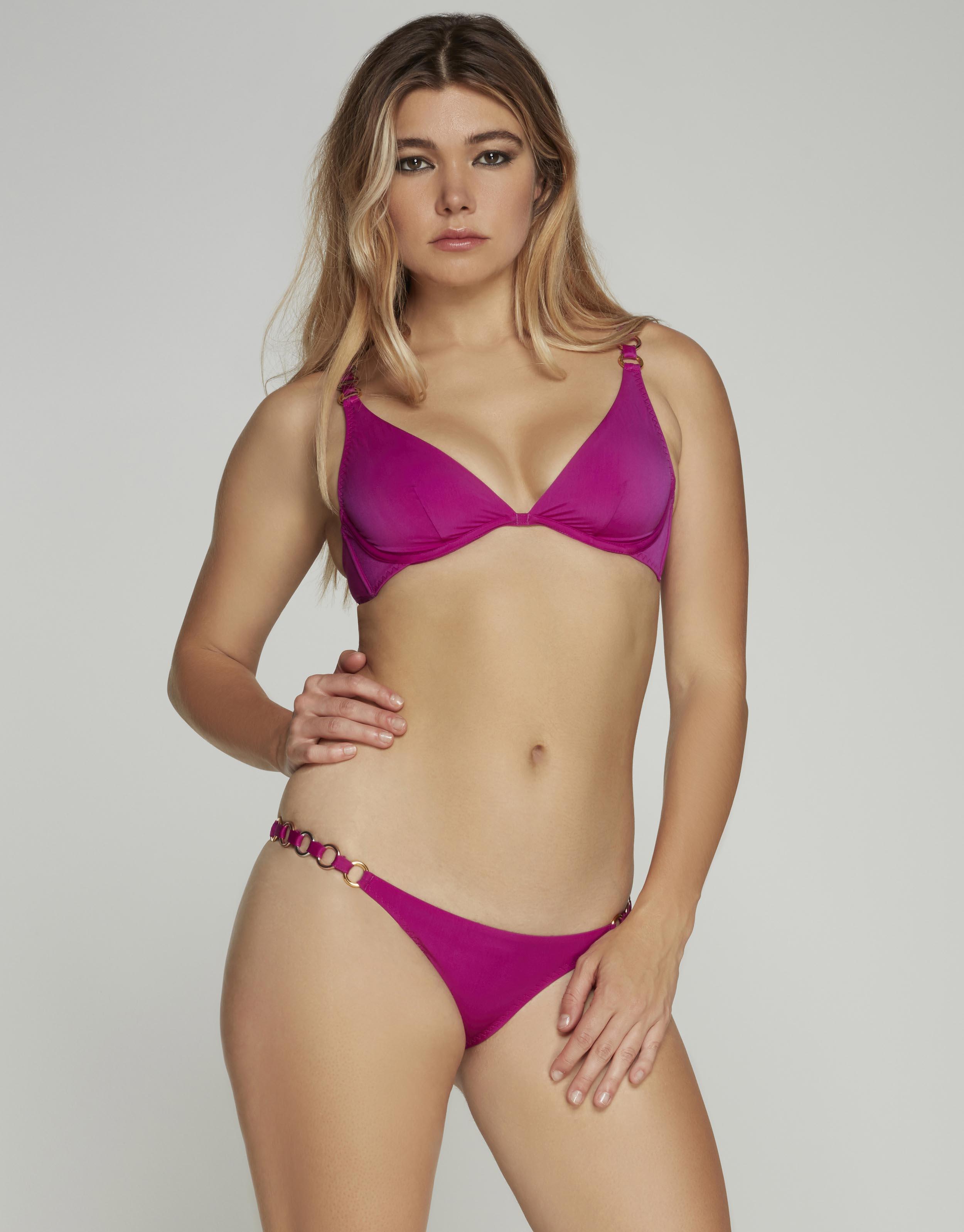 Agent Provocateur Kayla Bikini Bra In Pink