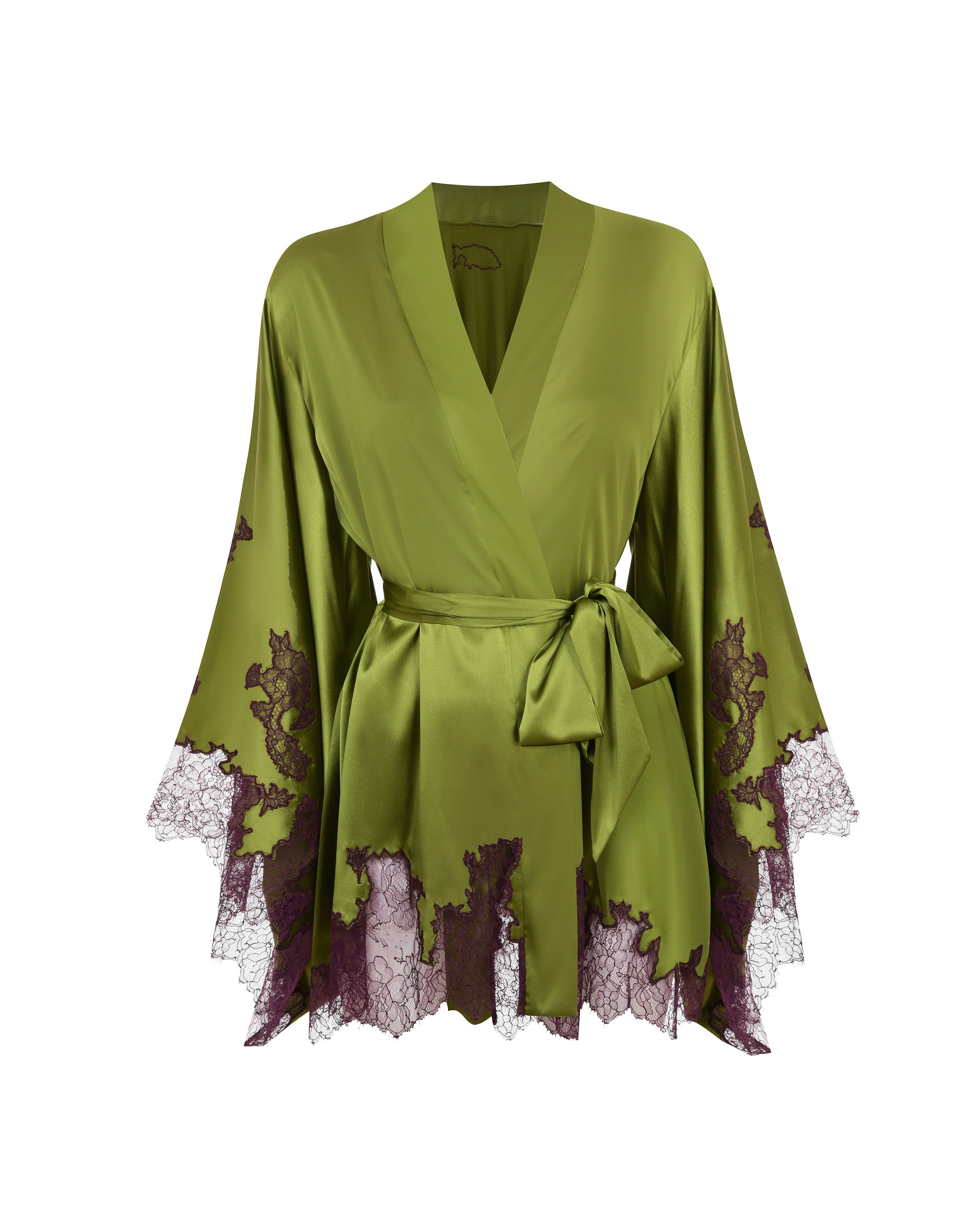 Agent Provocateur Christi Short Gown Green