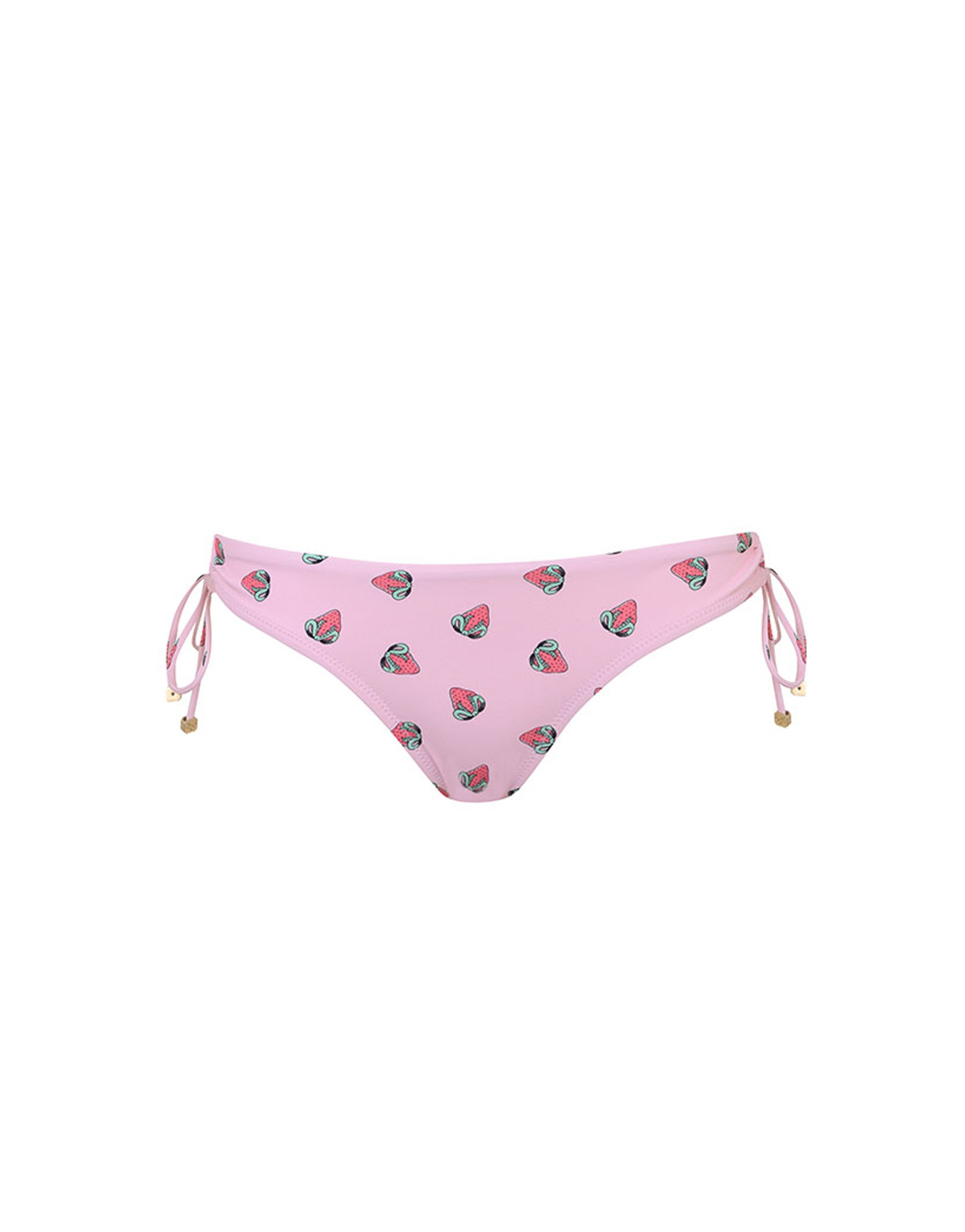 Agent Provocateur Fraise Bikini Bottom Pink And Red